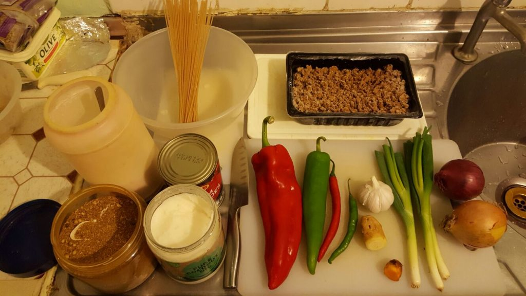 Gluten-Free Quorn Bolognese Ingredients