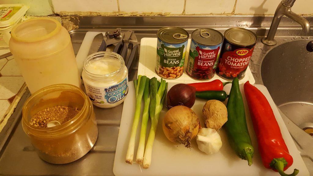 Ingredients - Four Bean Soupreme!